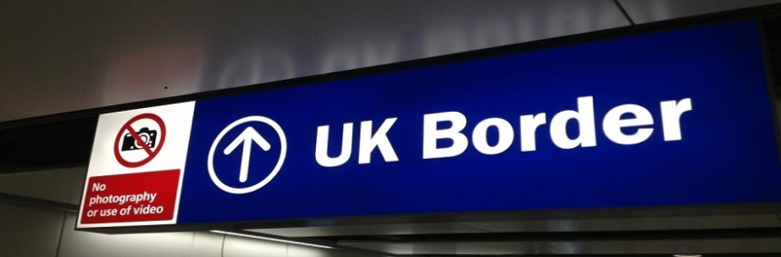 UK Border, Terminal 4, London Heathrow