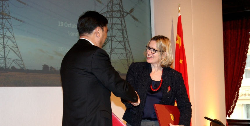 Amber Rudd DECC SOS_Nur Bekri National Energy Administration_China_DECC_Flickr_19_10_15